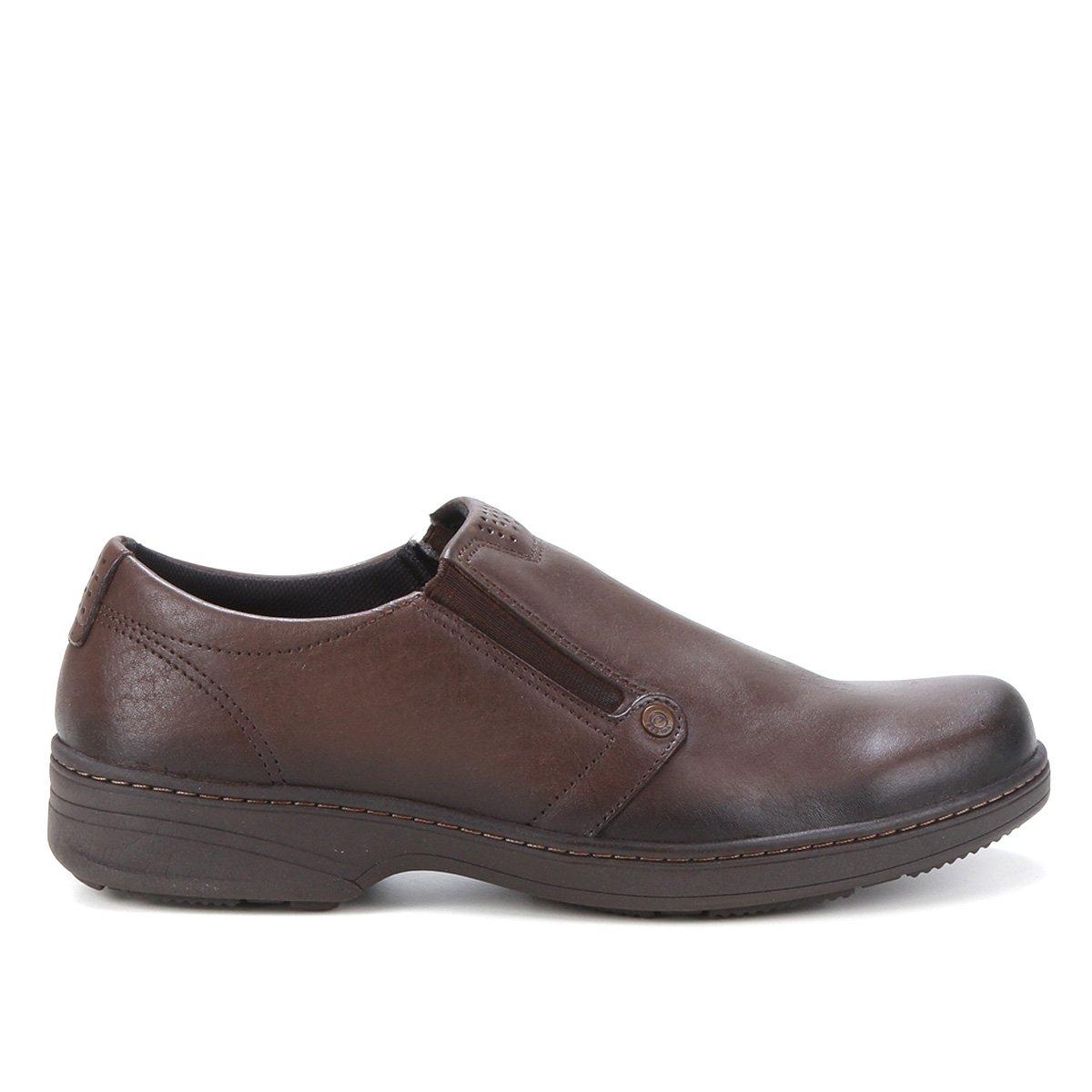 Sapato Social Pegada Sem Cadarço Masculino