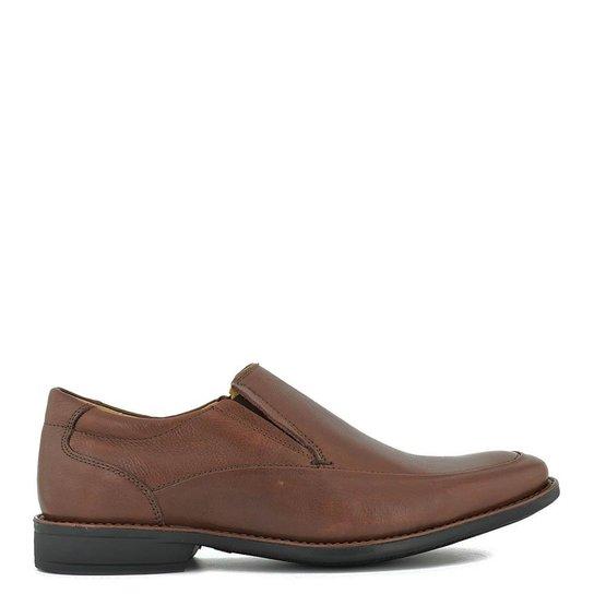 ecdcaab87 Sapato Anatomic Gel Couro Floater Pinhao - Compre Agora