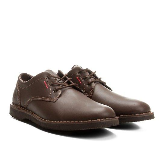 13d5e8781 Sapato Casual Couro Kildare Fylei Masculino - Marrom | Zattini
