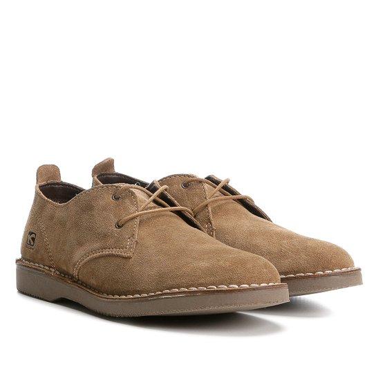 fcf7fd9e4 Sapato Casual Kildare Filey Camurça Masculino - Marrom | Zattini