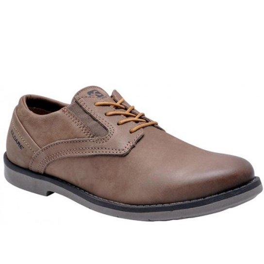 8c01962c5ce Sapato Casual Couro Kildare An. Waxy Saddle Masculino - Marrom ...