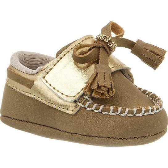 4ede49a971 Sapato Bebê Feminino Klin Mocassim - Compre Agora