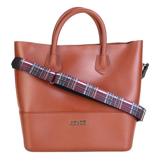 ada70c53f Bolsa Colcci Tote Shopper Feminina - Marrom   Zattini