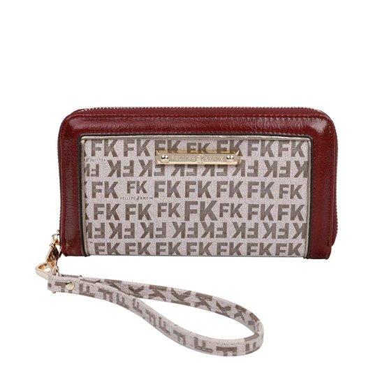 636abb0c0 Carteira Fellipe Krein Feminina - Marrom - Compre Agora | Zattini
