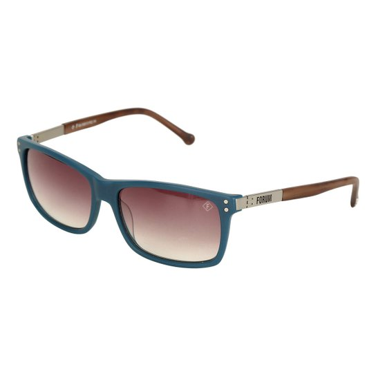 Óculos De Sol Forum Marmorizado Masculino - Marrom - Compre Agora ... d77541b8c0