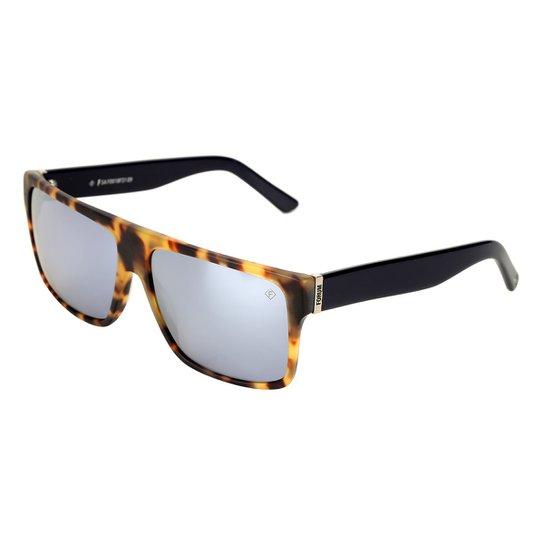 3c5073c056b8e Óculos de Sol Forum Demi Masculino - Marrom - Compre Agora