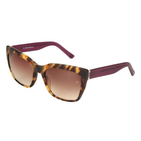 6d1b813de4e9a Óculos de Sol Forum Tartaruga Feminino - Marrom - Compre Agora