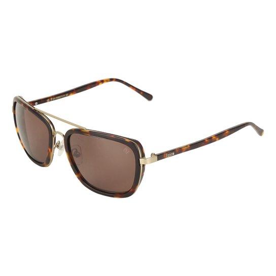 fbefa59030391 Óculos de Sol De Sol Forum Feminino - Marrom - Compre Agora