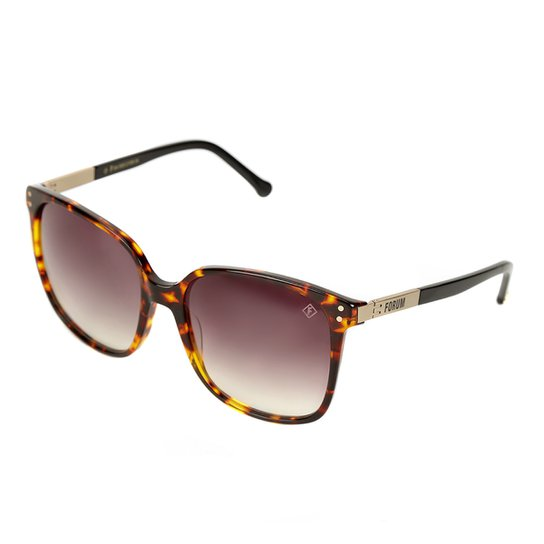 2659b9d7dda12 Óculos de Sol Forum F0012 Lente Degradê Feminino - Compre Agora ...