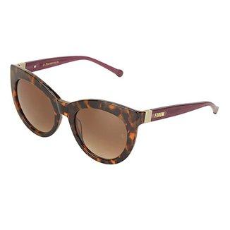 b2e3ea60acabb Óculos de Sol Forum Tartaruga Demi Feminino