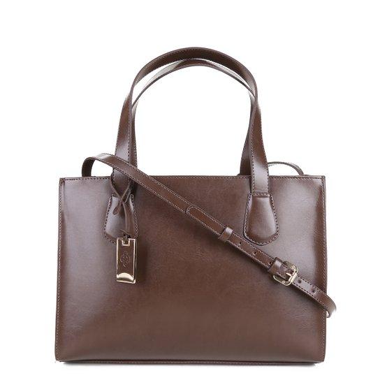 011ad038db Bolsa Capodarte Handbag Feminina - Marrom - Compre Agora