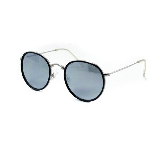 fba7c32aef4a6 Óculos de Sol Atitude - AT3192 04B - Preto e Prata - Compre Agora ...