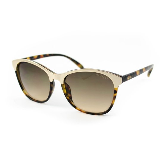Óculos de Sol Bulget - Marrom - Compre Agora   Zattini 4b8bd10df0