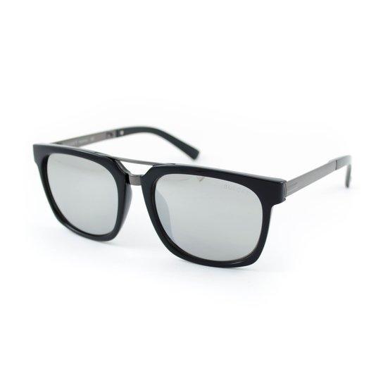 Óculos de Sol Bulget - Preto e Prata - Compre Agora   Zattini b61100a573