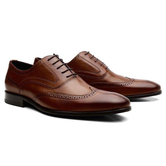 0f8c80d19 Sapato Social Com Cadarço Zuric Oxford Charles Masculino - Compre ...