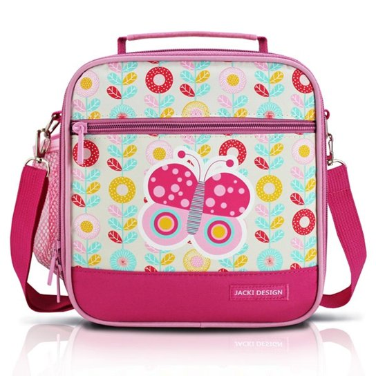 672ccd2b7 Lancheira Térmica Infantil Jacki Design Borboleta Feminina - Pink ...