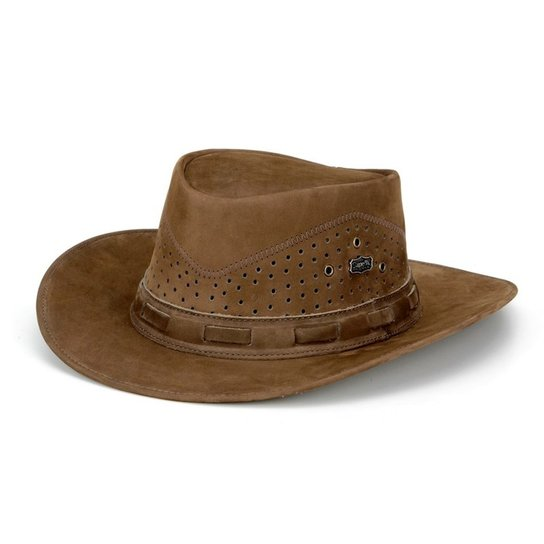 Chapeu Capelli Australiano Furado - Marrom - Compre Agora  4058844b76c