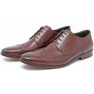 f573923ac Sapato Ingles Social Masculino em Couro Macio