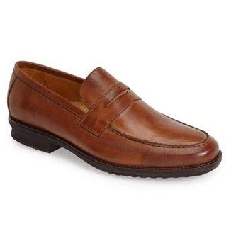a993ac608 Sapato Social Masculino Loafer Sandro Moscoloni Robinson