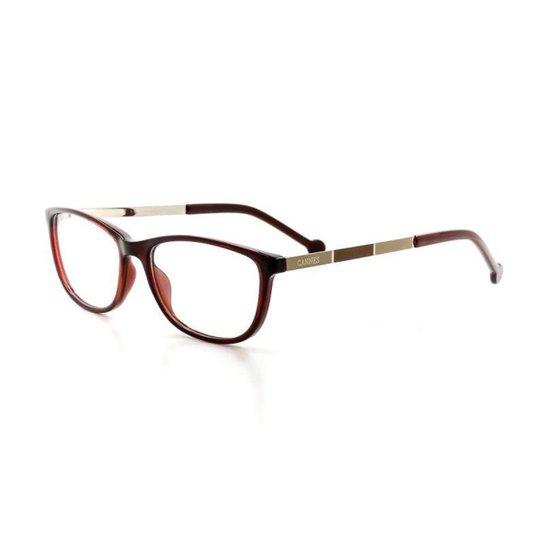 8809176b5 Armação De Óculos De Grau Cannes 5040 T 52 C 944 Feminino | Zattini