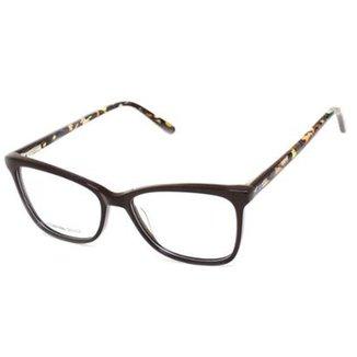 64b99790ca5d8 Armação De Óculos De Grau Feminino Cannes 880106 T 52 C Icônico