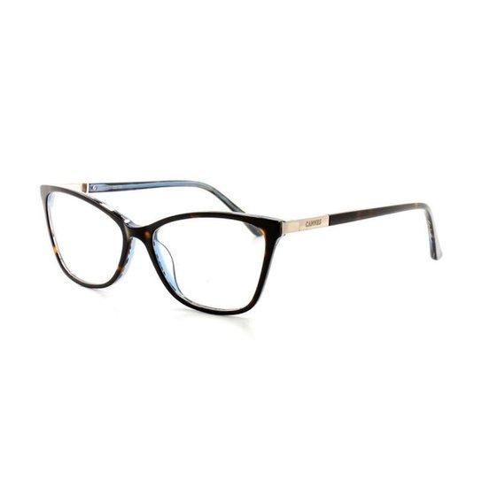 Armação De Óculos De Grau Cannes 3021 T 53 C 3 Feminino - Marrom ... 183d5b9823