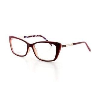 2d0ac195b9231 Armação De Óculos De Grau Cannes Sk5013 T 53 C 2 Feminino