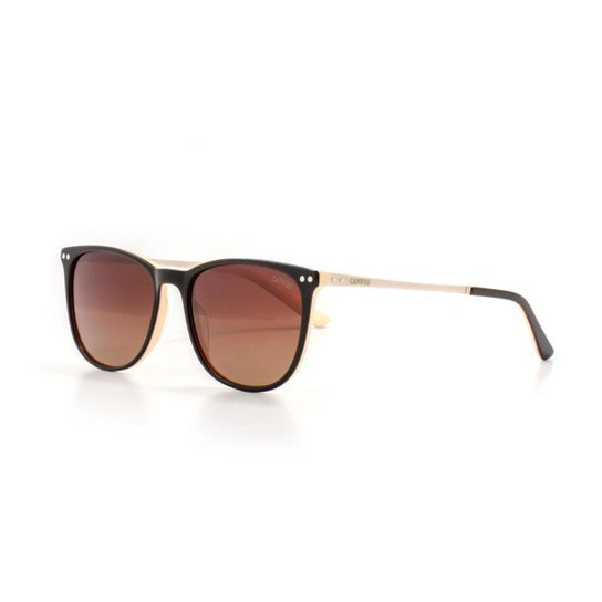 6095ddd2ee Óculos de Sol Cannes Lente Acrilico Quadrado Proteção UV Feminino - Marrom