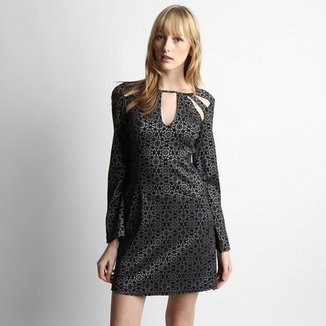 9c72d6eec Vestido Sommer Sabrina Sato Justo Estampado M/L