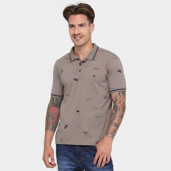 d8ea04aae477b Camisa Polo Sommer Malha Estampada - Compre Agora