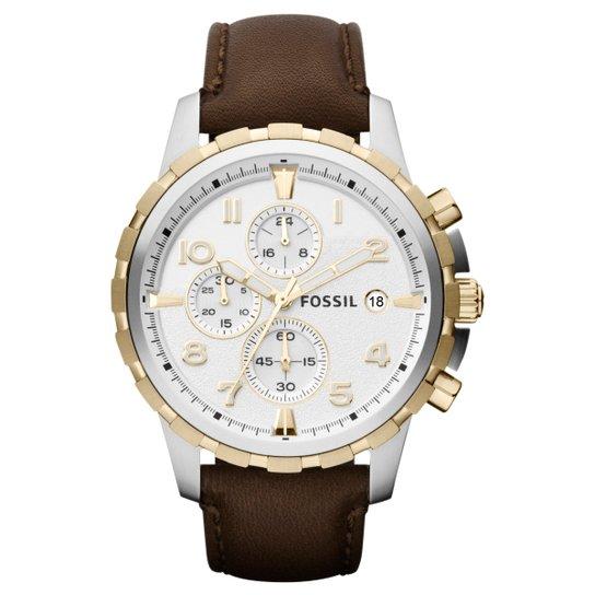 c0e5952d42a Relógio Couro Fossil Analógico FFS4788Z Masculino - Compre Agora ...