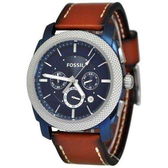 Relogio Fossil Fs5232 0An - Marrom - Compre Agora   Zattini 482f91f434