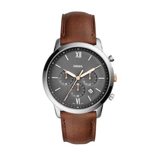 Relógio Fossil Masculino Casual Neutra Chrono - FS5408 0MN FS5408 0MN -  Marrom 5a5c0633ff