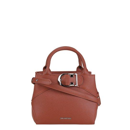 6fe1fe7766 Bolsa Ana Hickmann Mini Bag Detalhe Cinto Feminina - Compre Agora ...