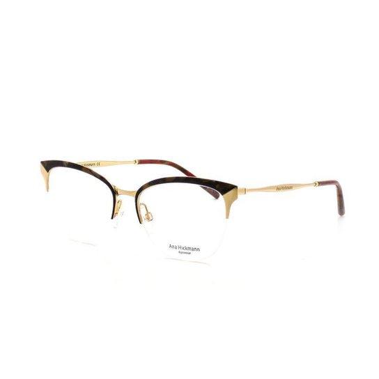Armação De Óculos De Grau Ana Hickmann 1352 T 54 C 04C E - Compre ... 076876bca2