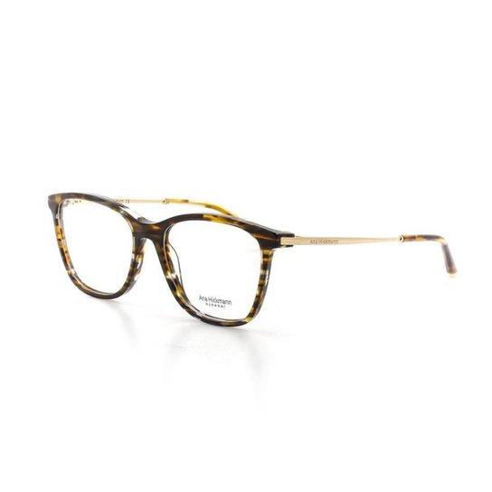 2ba9bc7ad Armação De Óculos De Grau Ana Hickmann 6269 T 53 C E01 Feminino - Marrom