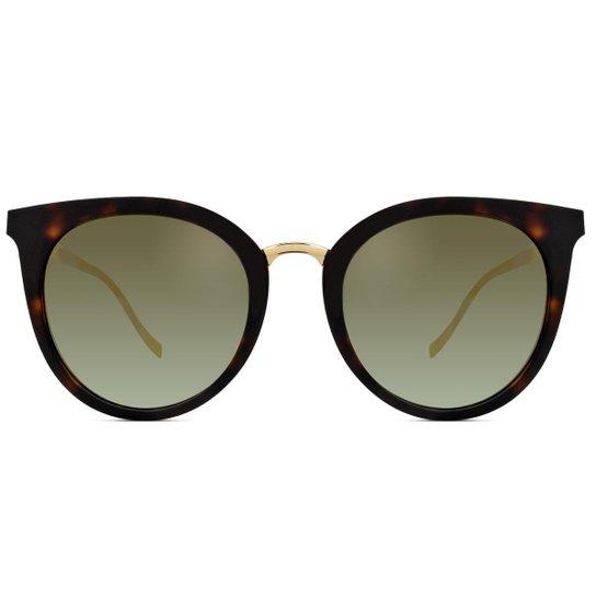 08a223f476047 Óculos de Sol Ana Hickmann Feminino - Marrom - Compre Agora