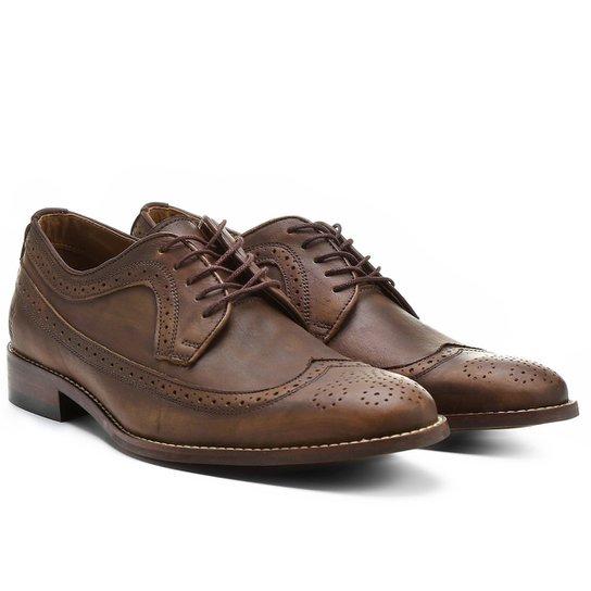 389a25a180b Sapato Casual Couro Sergio K Oxford Brogues - Compre Agora