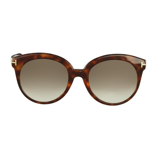 Óculos Solar Tom Ford Casual - Marrom - Compre Agora   Zattini f6065d1e7e