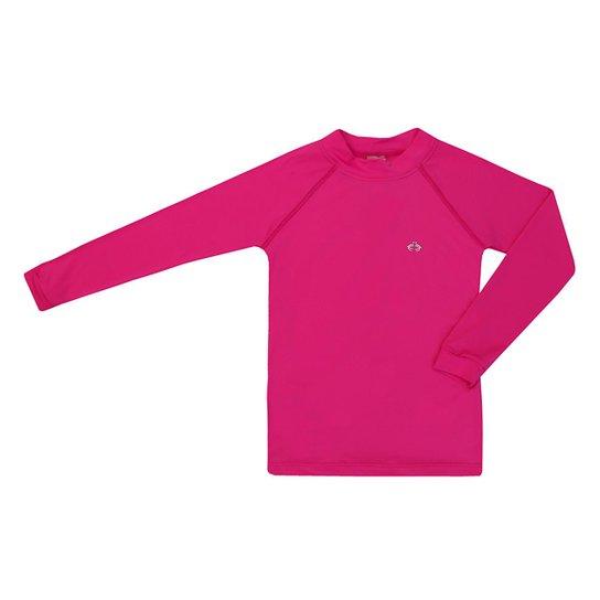Camiseta Infantil Kids Proteção UV 50+ Siri Feminina - Pink - Compre ... 4376d122a84