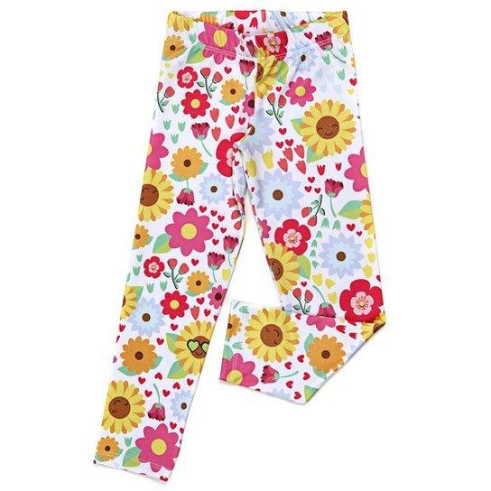 Legging Jokenpô Infantil Floral Girassol - Pink - Compre Agora  c57aa416adf6a