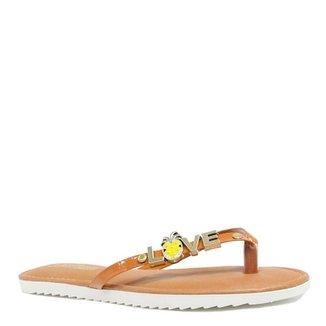 a085a3658 Rasteiras Zariff Shoes Feminino Marrom