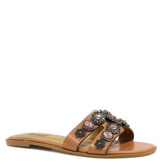 26f574316 Rasteiras Zariff Shoes Feminino Marrom - Calçados