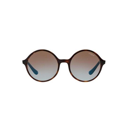 Óculos de Sol Vogue Redondo VO5036S Feminino - Compre Agora   Zattini f1a8427a66