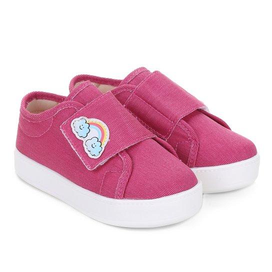 ecfe2b19b87 Tênis Infantil Dok Miss Fun Arco-Íris Feminina - Pink - Compre Agora ...