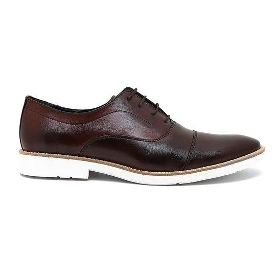 0b41d2e08 Sapato Casual Couro Milano Oxford Masculino - Compre Agora