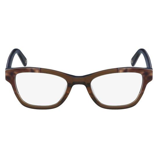 Armação Óculos de Grau Nine West NW5126 211 50 - Marrom - Compre ... e4ed91a66c