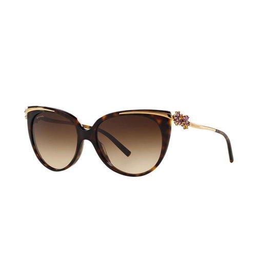 51597fb364d Óculos de Sol Bulgari BV8089G - Compre Agora