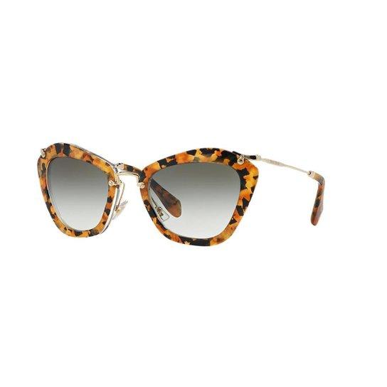 09b468cc24eb2 Óculos de Sol Miu Miu MU 10NS - Compre Agora