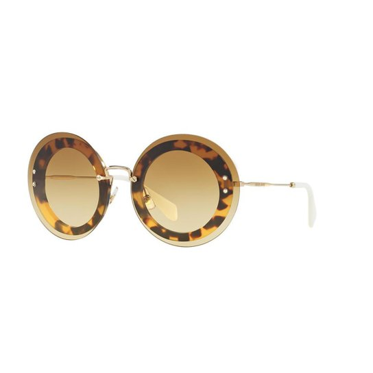 Óculos de Sol Miu Miu MU 10RS Reveal - Compre Agora   Zattini d2a053fd45